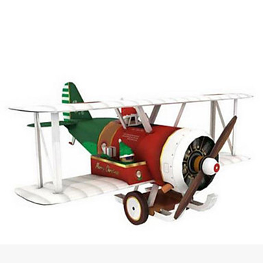 3D Puzzle Paper Model Toy Gliders Plane / Aircraft Simulation DIY Hard Card Paper Kid's Unisex Gift
