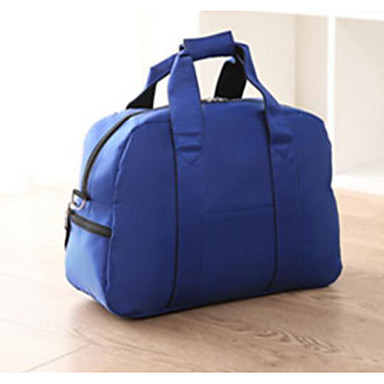 Women Travel Bag Oxford Cloth All Seasons Casual Outdoor Rectangle Zipper Blue Black Red