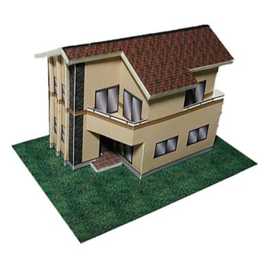 Quebra-Cabeças 3D Artesanato de Papel Casa Faça Você Mesmo Clássico Crianças Unisexo Dom