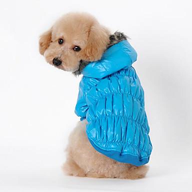 Cachorro Casacos Roupas para Cães Respirável Casual Sólido Preto Café Vermelho Azul Ocasiões Especiais Para animais de estimação