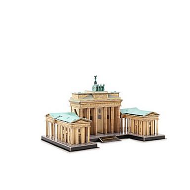 3D-puslespill Puslespill Leketøy Kjent bygning Arkitektur 3D EPS+EPU Uspesifisert Deler