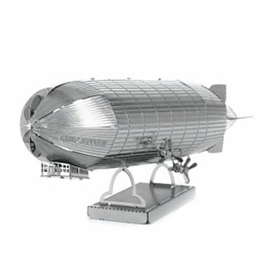 3D-puslespill Puslespill Metallpuslespill Modellsett Leketøy Luftkraft 3D GDS Rustfritt Stål Chrome Metall Uspesifisert Deler