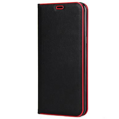 Capinha Para Samsung Galaxy S8 Plus S8 Porta-Cartão Com Suporte Flip Capa Proteção Completa Côr Sólida Rígida PC para S8 Plus S8 S7 edge
