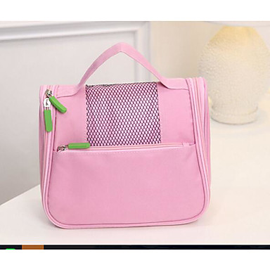 Women Tote Oxford Cloth Polyester All Seasons Casual Outdoor Rectangle Zipper Arm Green Azure Pinky