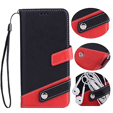 Case For iPhone 7 / iPhone 7 Plus / iPhone 6s Plus Wallet / Card Holder / with Stand Full Body Cases Solid Colored Hard PU Leather for iPhone 7 Plus / iPhone 7 / iPhone 6s Plus
