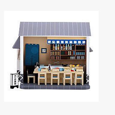 Quebra-Cabeças 3D Maquetes de Papel Artesanato de Papel Brinquedos de Montar Construções Famosas Arquitetura Faça Você Mesmo Cartão de