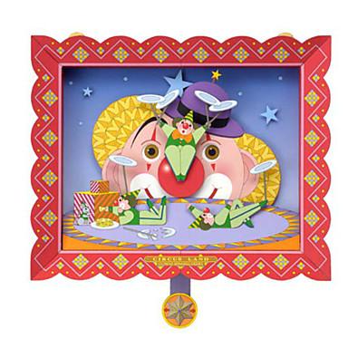 voordelige 3D-puzzels-3D-puzzels Bouwplaat Modelbouwsets Paard Clown DHZ Klassiek Unisex Speeltjes Geschenk