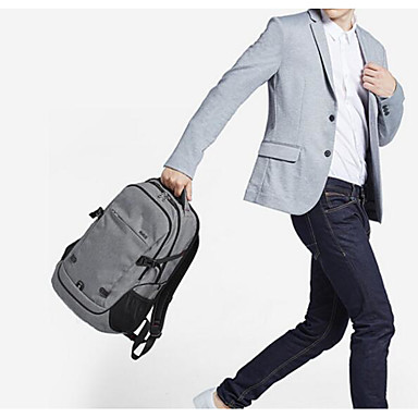 Men Shoulder Bag Polyester All Seasons Casual Outdoor Square Zipper Black Dark Blue Dark Grey