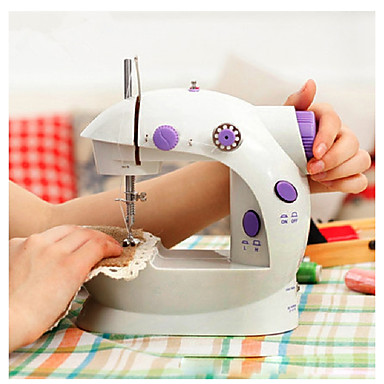 Handheld sewing machines Dual Speed Double Thread Multifunction Electric Mini Automatic Tread Rewind Sewing Machine
