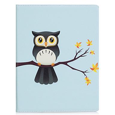 Capinha Para Apple iPad 4/3/2 iPad Air 2 iPad Air Origami Capa Proteção Completa Animal Rígida PU Leather para iPad 4/3/2 iPad Air iPad