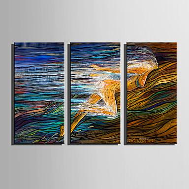 Canvas Print Three Panels Canvas Vertical Print Wall Decor Home Decoration