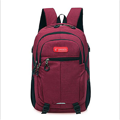Unisex Bags Nylon Sports & Leisure Bag for Casual All Seasons Blue Black Red