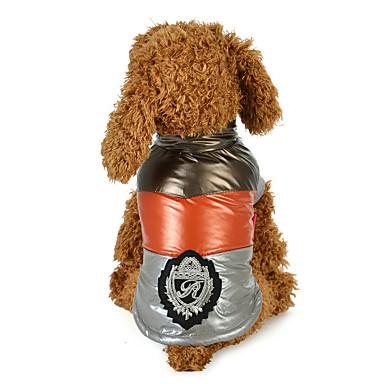 Hund Frakker Hundeklær Fritid/hverdag Britisk Grå Blå Kostume For kjæledyr