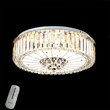 تركيب السقف المدمج ضوء محيط طلاء ملون معدن تخفيت, LED, ديمابل مع جهاز التحكم عن بعد 220-240V وشملت مصدر ضوء LED / LED متكاملة