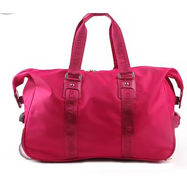 Women Boarding Case/Cabin Case Polyester All Seasons Casual Outdoor Round Zipper Red Fuchsia