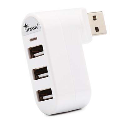 4 porttia USB 2.0 nopea napa 480Mbps langaton