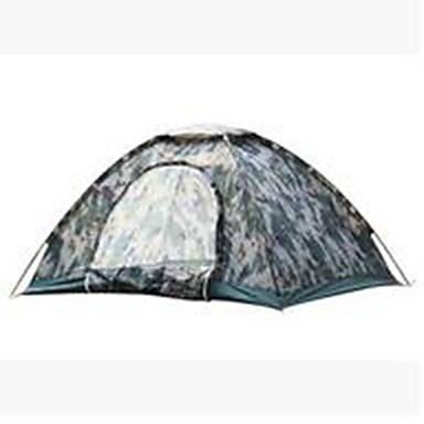 3-4 persons Tent Single Camping Tent Fold Tent Keep Warm Dust Proof for Camping / Hiking Other Material CM