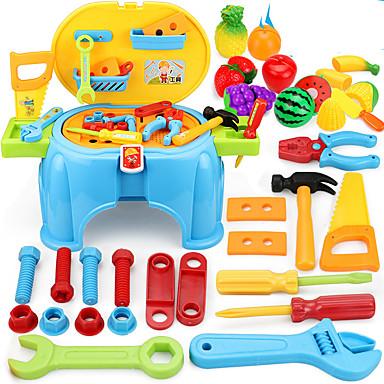 Ferramentas de Construção Caixas de Ferramentas Ferramentas de Brinquedo Segurança Plásticos Para Meninos Crianças Dom 1pcs