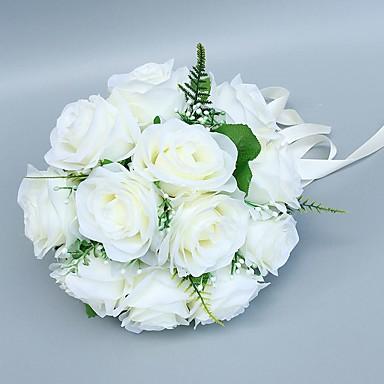 Bouquets de Noiva Buquês Casamento Tule / Poliéster 9.84