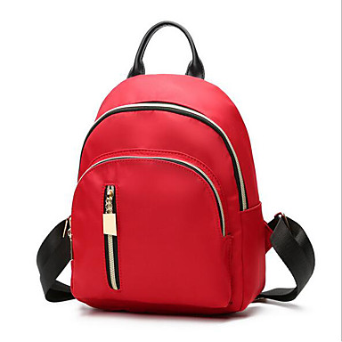 Women Bags All Seasons Oxford Cloth Backpack for Casual Green Black Red