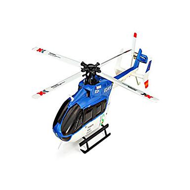 billige RC Helikopter-Radiostyrt Helikopter WLtoys 6ch 6 Akse BNF Flyr På Hodet Fjernkontroll / Flybarless