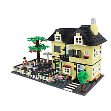 WAN GE Blocos de Construir Quadrada Construções Famosas Arquitetura Unisexo Brinquedos Dom