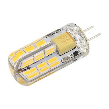 2W G4 LED-lamper med G-sokkel T 48 leds SMD 4014 Varm hvit Kjølig hvit 180lm 2800-3500;5000-6500