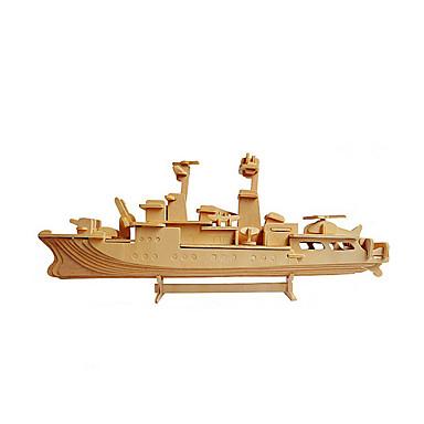 3D-puslespill Puslespill Tremodeller Modellsett Krigsskip Hangarskip 3D Tre Hangarskip Unisex Gave