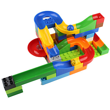 Balls Marble Track Set Marble Run Educational Toy Toys 3D Plastics High Quality 1 Pieces Children's Christmas Children's Day Gift