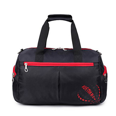 Unisex Bags Polyester Travel Bag for Casual Outdoor All Seasons Blue Green Black Red Purple