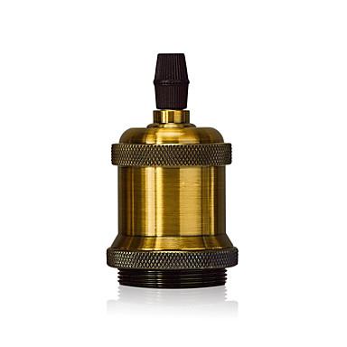 1 Pcs E26/E27 Screw Light Bulb Socket Edison Retro Pendant Lamp Holder without Cord and Switch