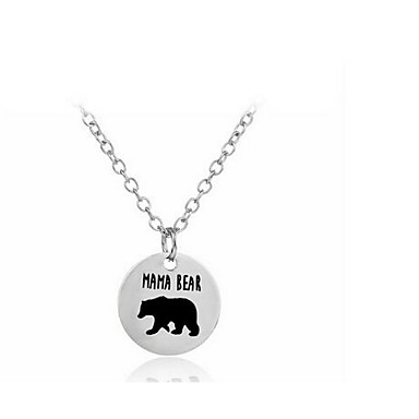 Women's Pendant Necklaces Jewelry Alloy Basic Fashion Jewelry For Birthday Daily Casual