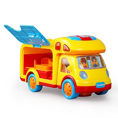 Carros de Brinquedo Brinquedo Educativo Brinquedos Música e luz Elétrico Plásticos Peças Crianças Dom