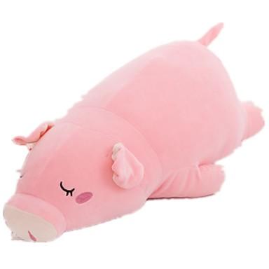 Plüschtiere Kissen Spielzeuge Schwein Tier Baumwolle Unisex Teen Stücke