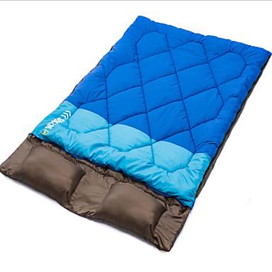 Sovepose Dobbelbredde -5-10°C Hold Varm Varm Anti-Statisk Tykk Polstret Flanell foret Kompakt 190+30 Camping & Fjellvandring Camping /