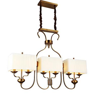 Tradicional/Clásico Lámparas Colgantes Para Comedor Habitación de estudio/Oficina AC 100-240V Bombilla incluida