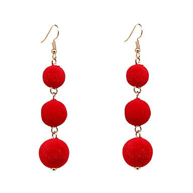 Women's Drop Earrings Jewelry Luxury Bohemian Adjustable Alloy Circle Geometric Jewelry Party Birthday Club Costume Jewelry