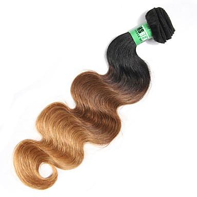 Peruvian Hair Body Wave Human Hair Weaves 1 Piece 0.1
