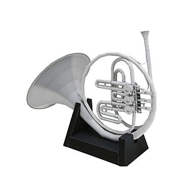 Quebra-Cabeças 3D Maquetes de Papel Artesanato de Papel Brinquedos de Montar Instrumentos Musicais Simulação Artigos de mobiliário Faça