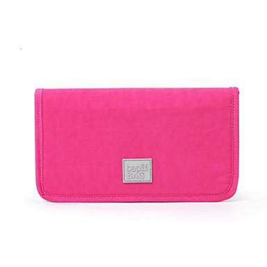 Unisex Bags All Seasons Nylon Card & ID Holder for Casual Black Gray Fuchsia