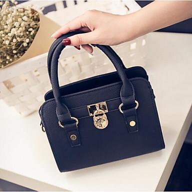 Women Bags All Seasons PU Shoulder Bag for Casual Outdoor Black Gray