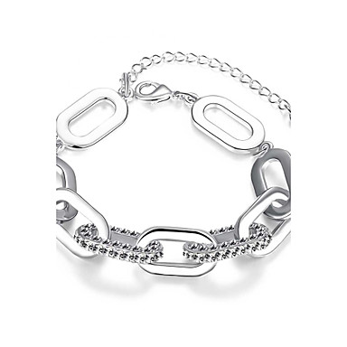 Women's Chain Bracelet Charm Bracelet Cubic Zirconia Natural Friendship Gothic Movie Jewelry Luxury Fashion Vintage Bohemian Punk Hip-Hop
