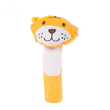 Tiger Lelut Sorminukke Pehmolelut Baby Rattle Cute Eläimet Taapero