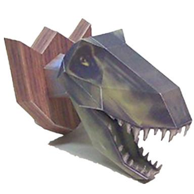 voordelige 3D-puzzels-3D-puzzels Bouwplaat Modelbouwsets Tyrannosaurus Dinosaurus DHZ Simulatie Klassiek Kinderen Unisex Jongens Speeltjes Geschenk