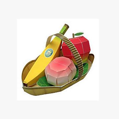 voordelige 3D-puzzels-3D-puzzels Papierkunst Banaan Fruit Jumbo Peach DHZ Hard Kaart Paper Kinderen Unisex Speeltjes Geschenk