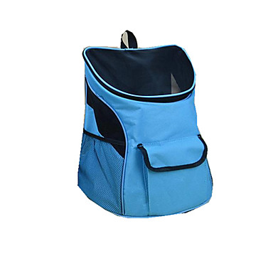 Cat Dog Carrier & Travel Backpack Pet Carrier Portable Breathable Solid Yellow Blue