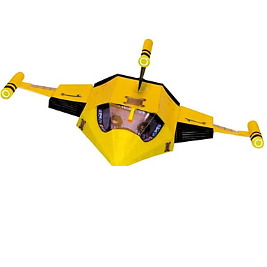 Quebra-Cabeças 3D Quebra-Cabeça Artesanato de Papel Brinquedos de Montar Aeronave 3D Simulação Faça Você Mesmo Clássico Desenho Unisexo