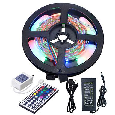 HKV 5m Conjuntos de Luzes 300 LEDs 3528 SMD RGB 100-240 V