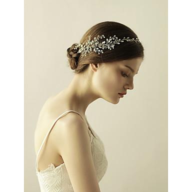 Strass Tiaras / Headbands com 1 Casamento / Ocasião Especial / Aniversário Capacete