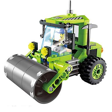 ENLIGHTEN Carros de Brinquedo Blocos de Construir Quadrada Para Meninas Para Meninos Unisexo Brinquedos Dom